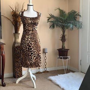 A cache cocktail dress